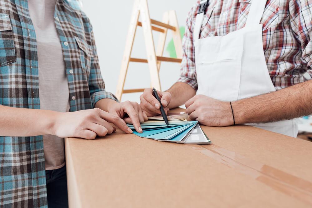 Schildersbedrijf vragen om advies